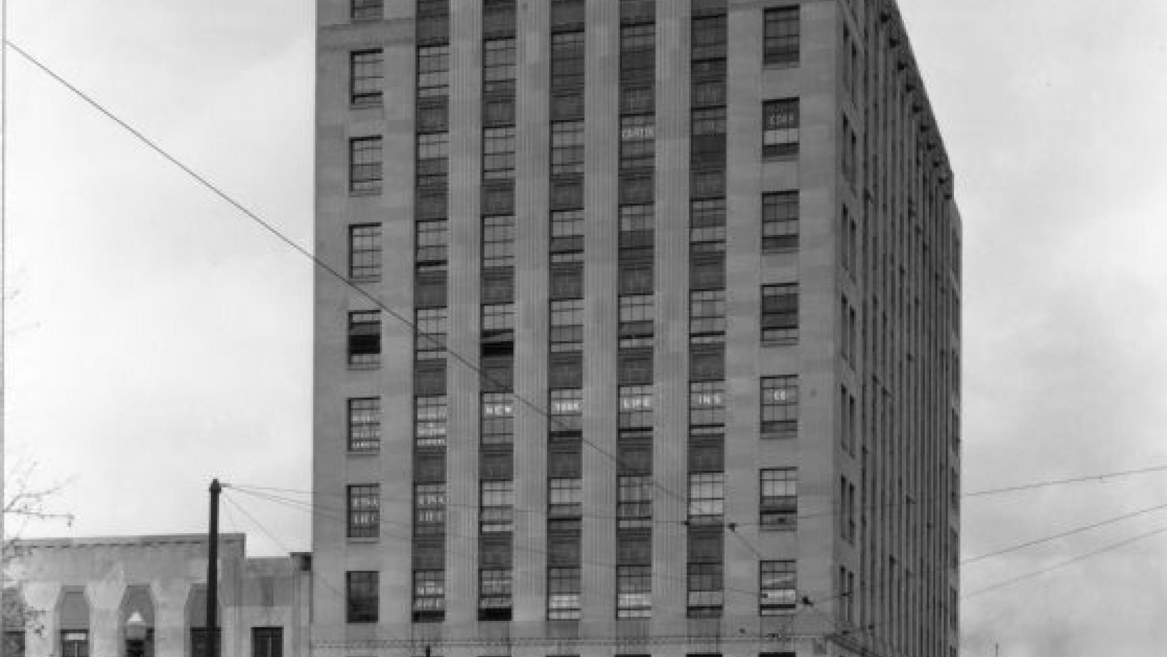 ULI Tenney Plaza - Historic Photo, Art Deco Exterior
