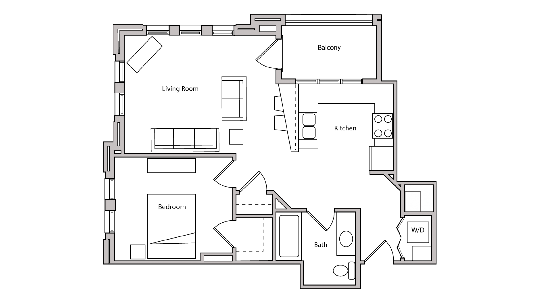ULI The Depot 1-307 - One Bedroom, One Bathroom