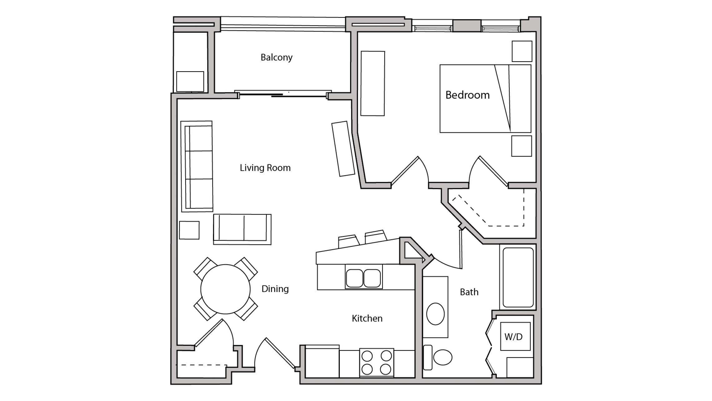 ULI The Depot 2-407 - One Bedroom, One Bathroom