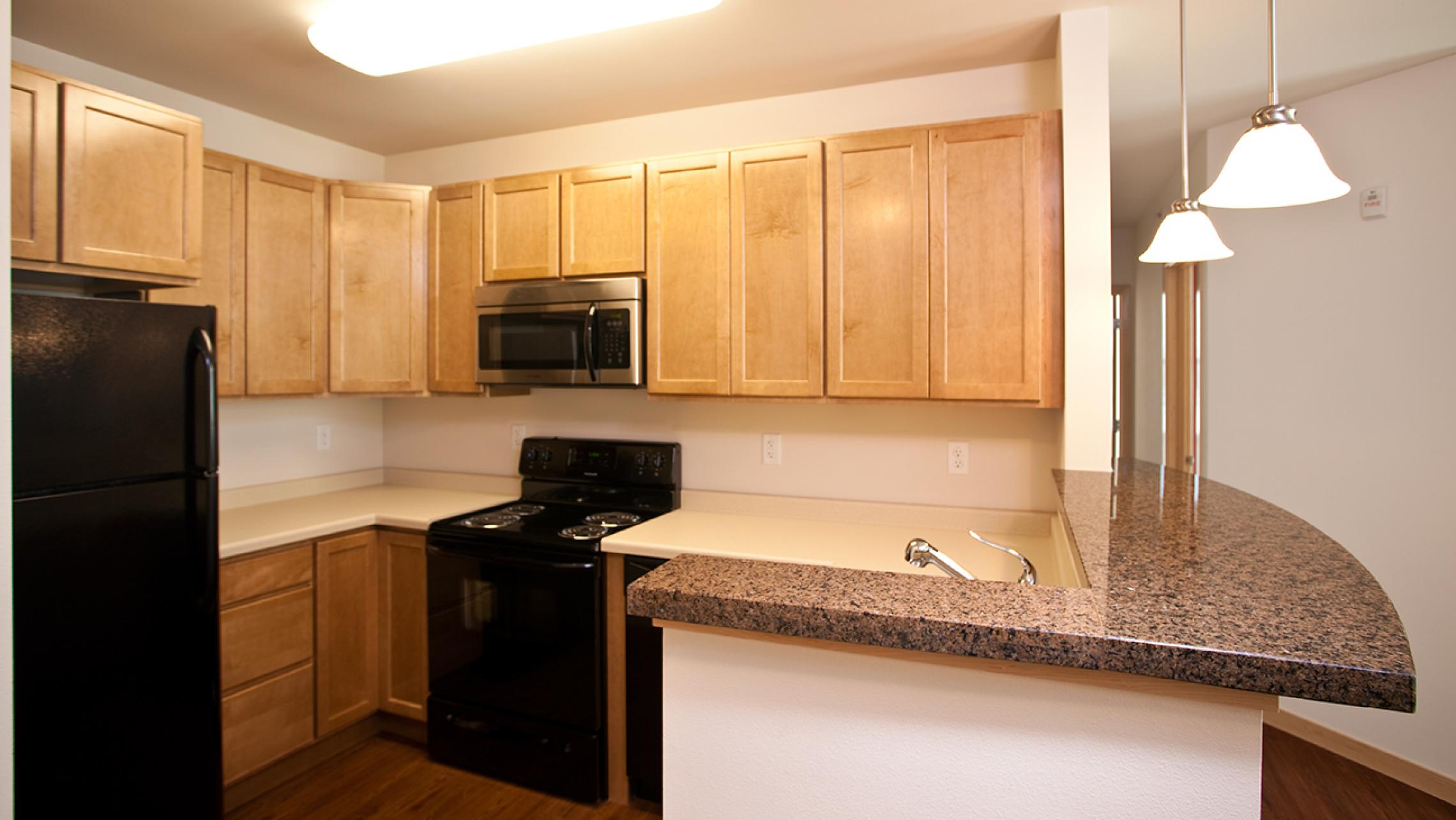 ULI The Depot Apartments - Kitchen with High End Finishes