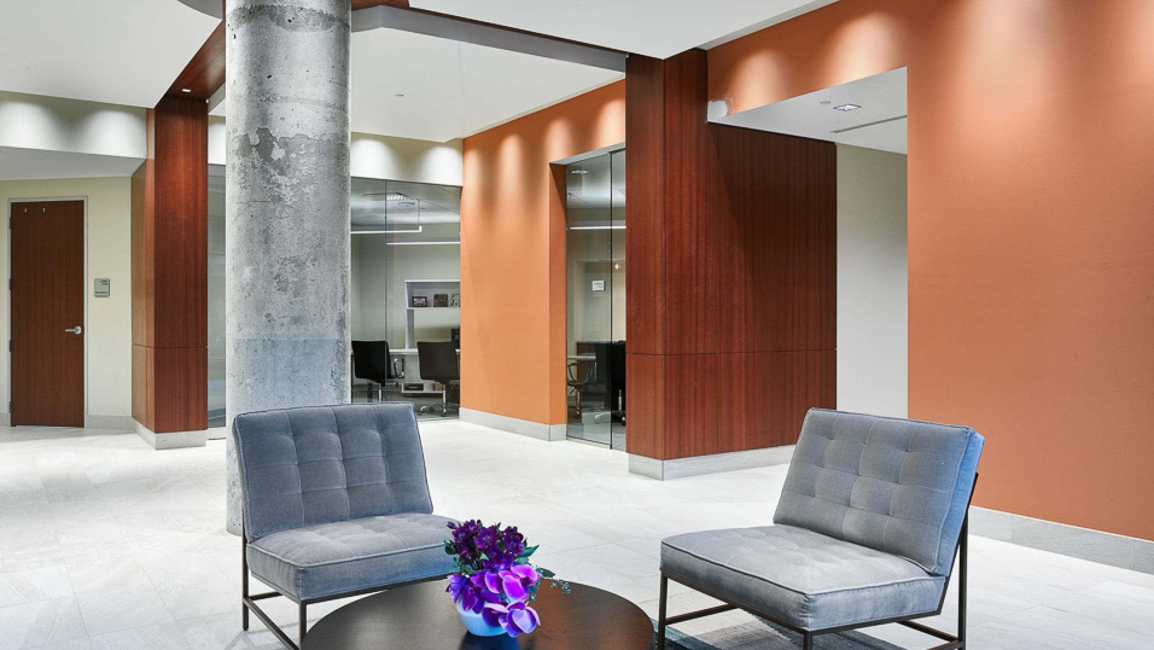 ULI The Pressman Lobby with Seating Area