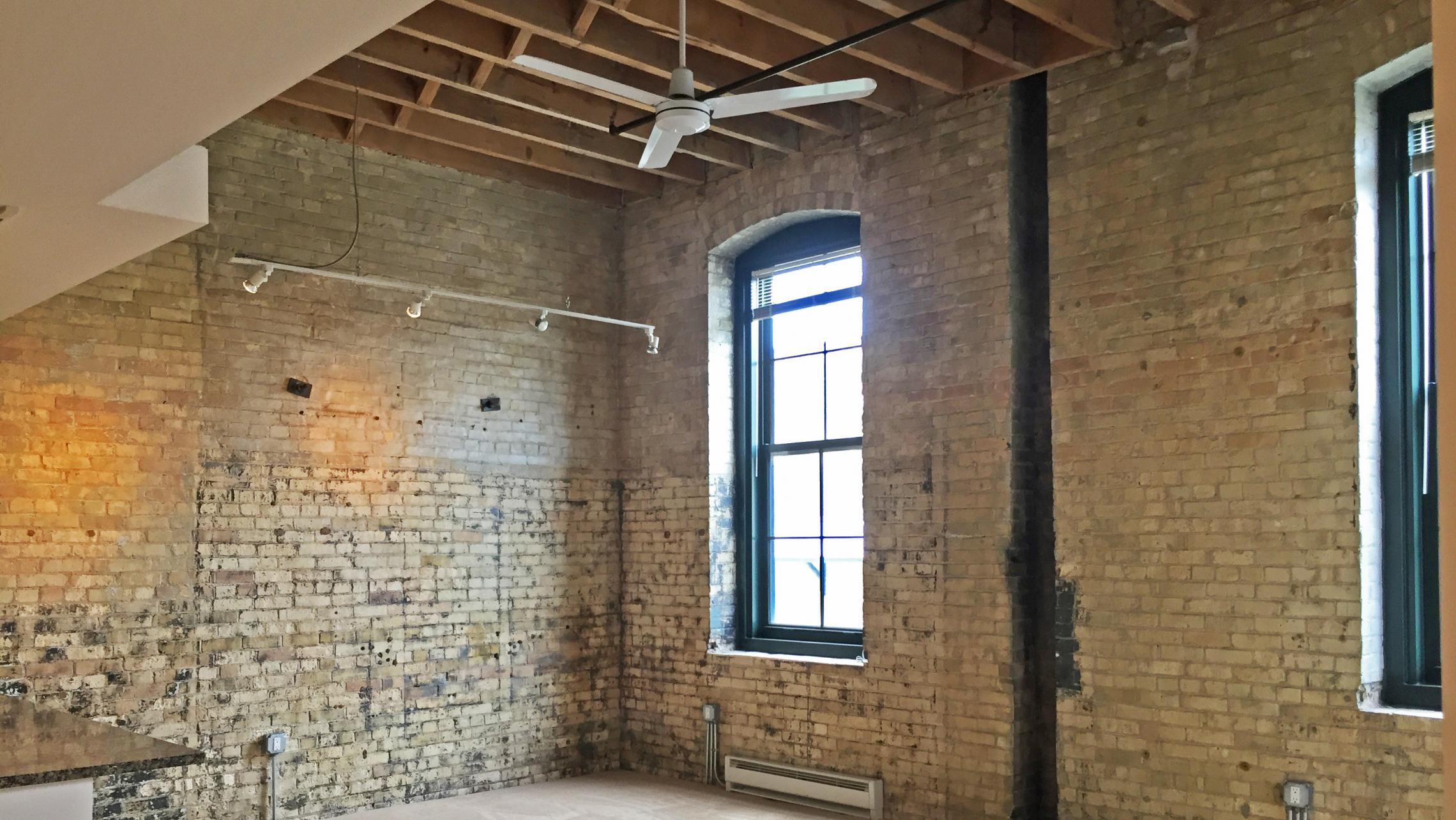 ULI Tobacco Lofts - E208 - Historic Exposed Brick