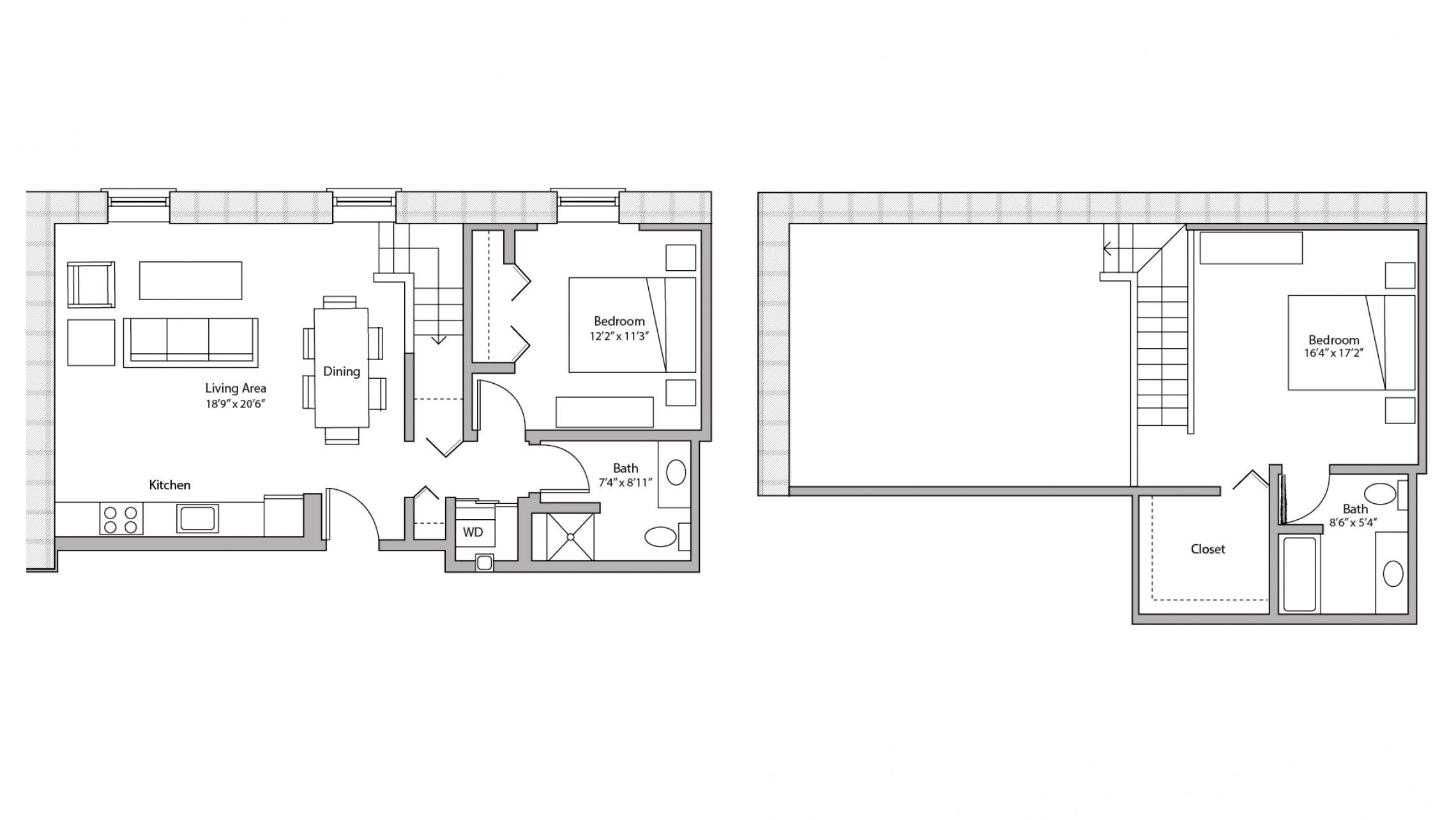 ULI Tobacco Lofts E307 - Two Bedroom, Two Bathroom