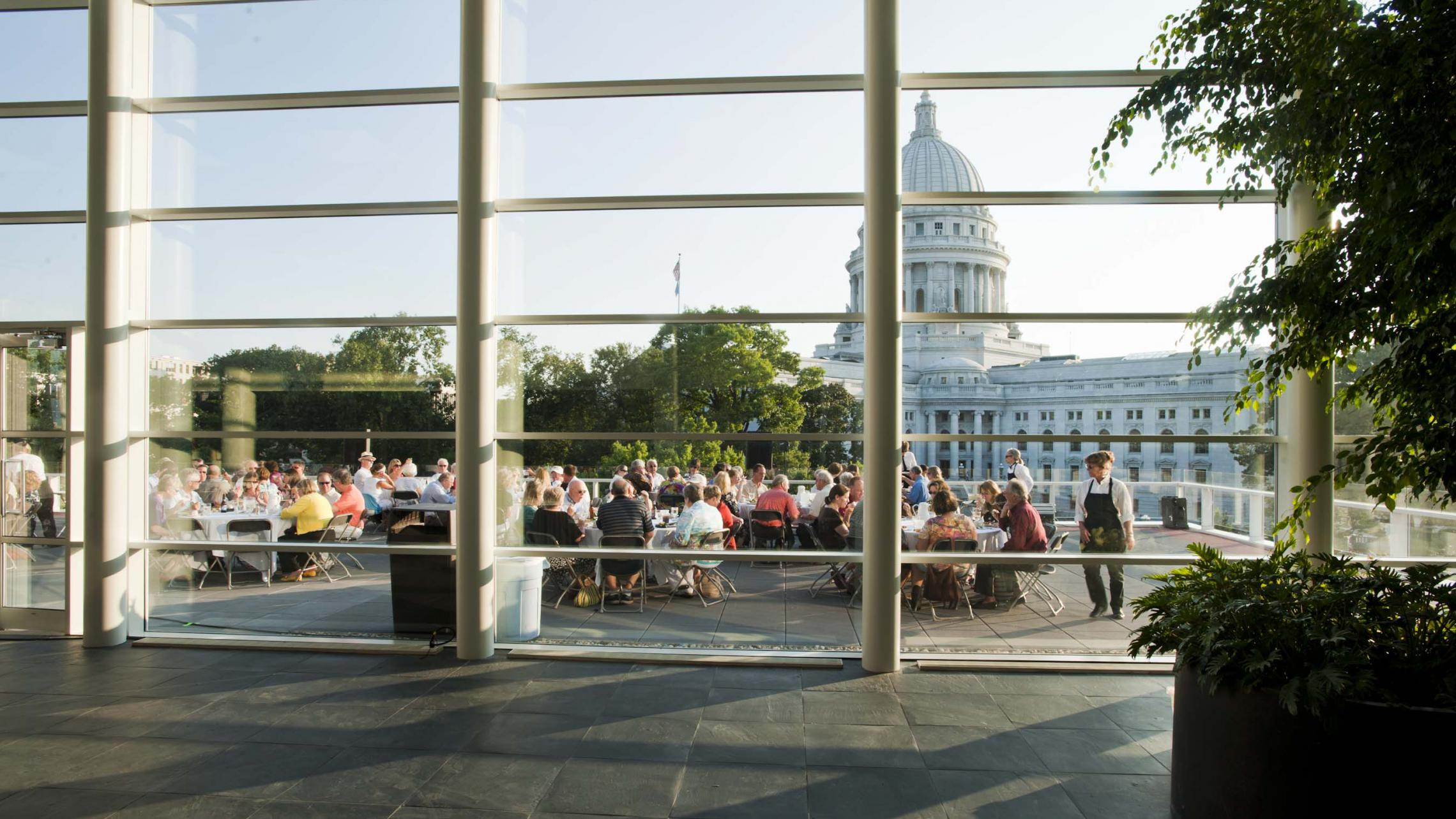 ULI US Bank Plaza - Concerts on the Square Event on Rooftop Terrace