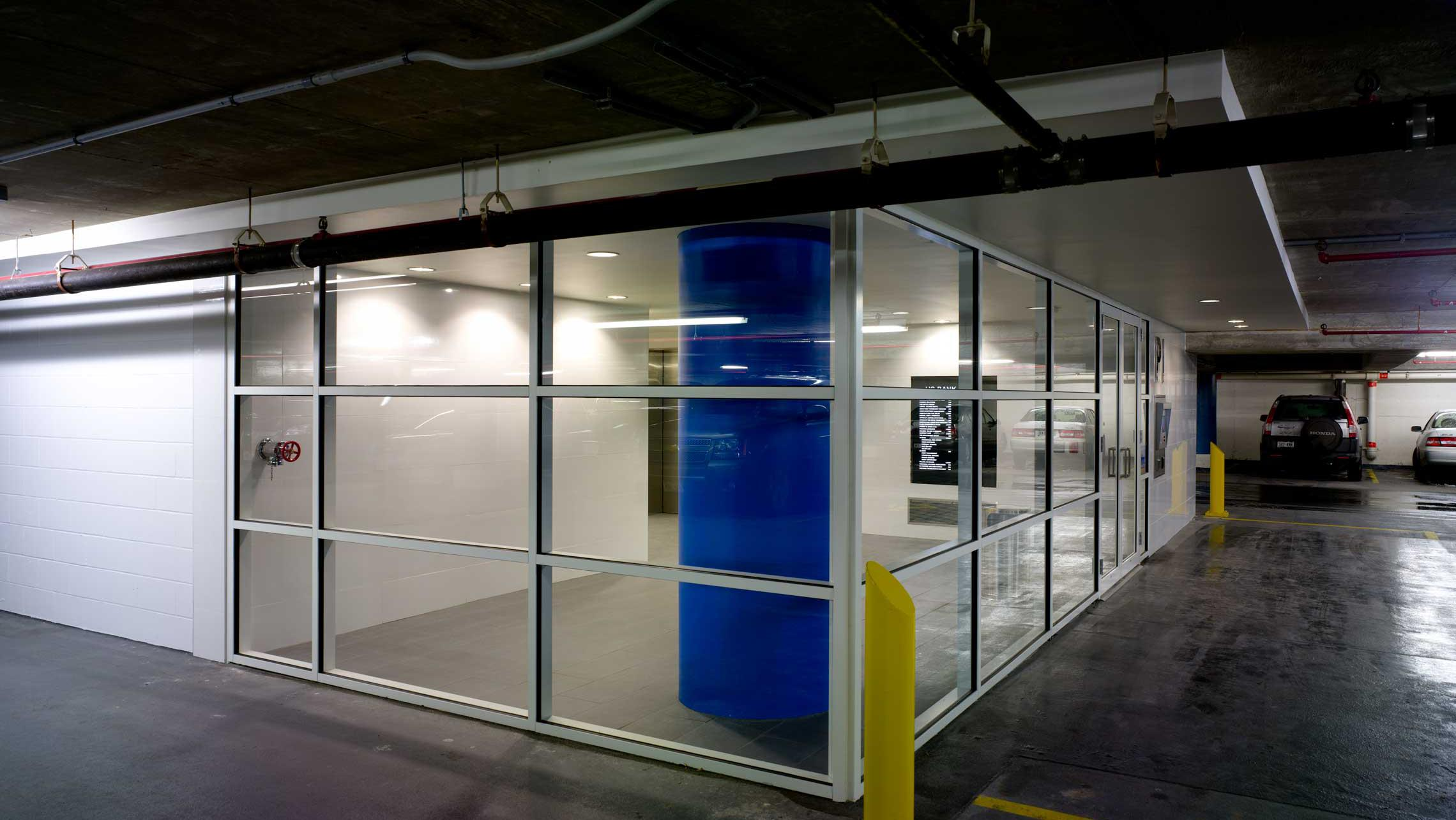 ULI US Bank Plaza Parking Ramp Vestibule