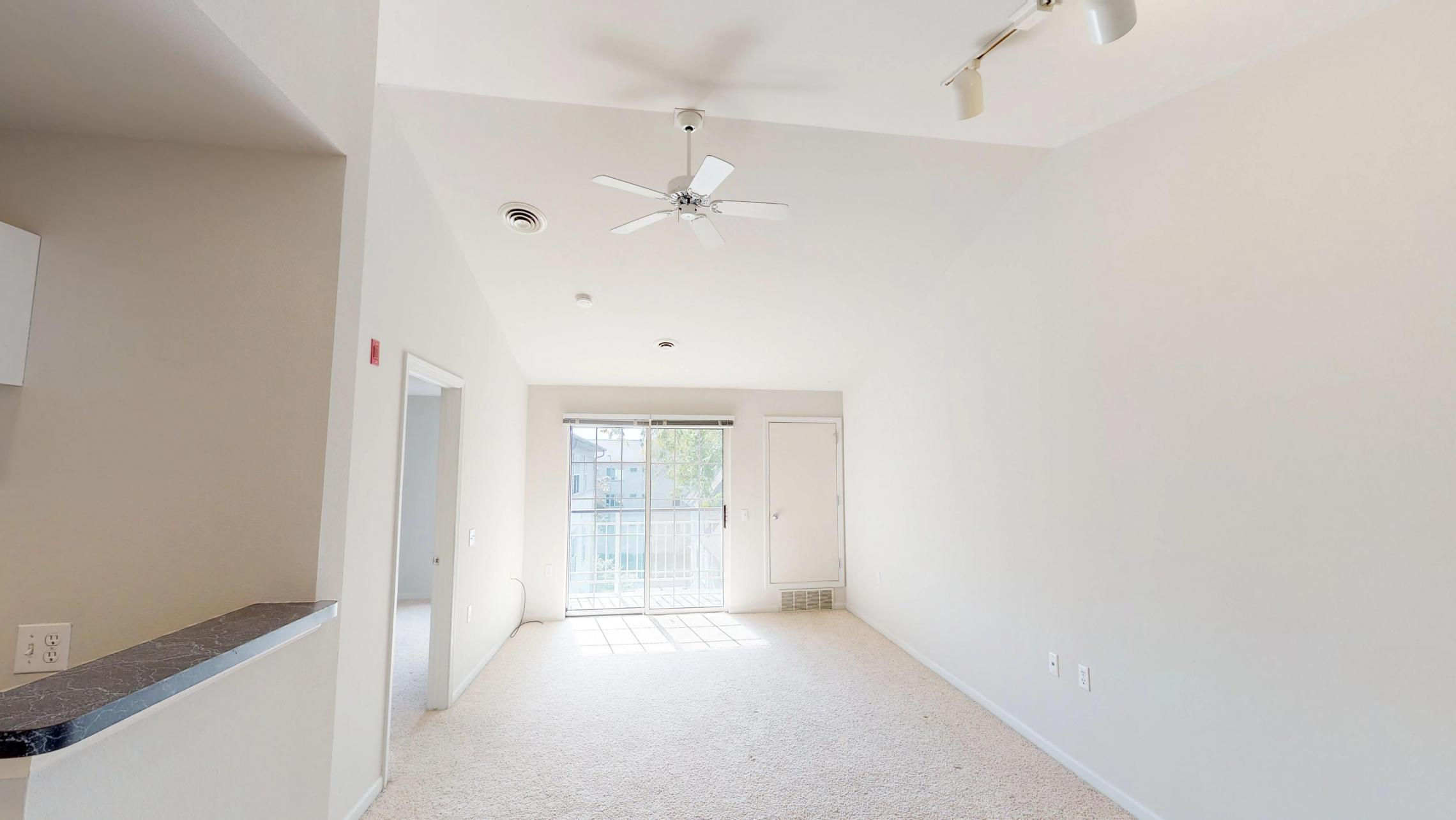 Wilson-Bay-Apartments-303-one bedroom-living-dinning room-downtown-balcony