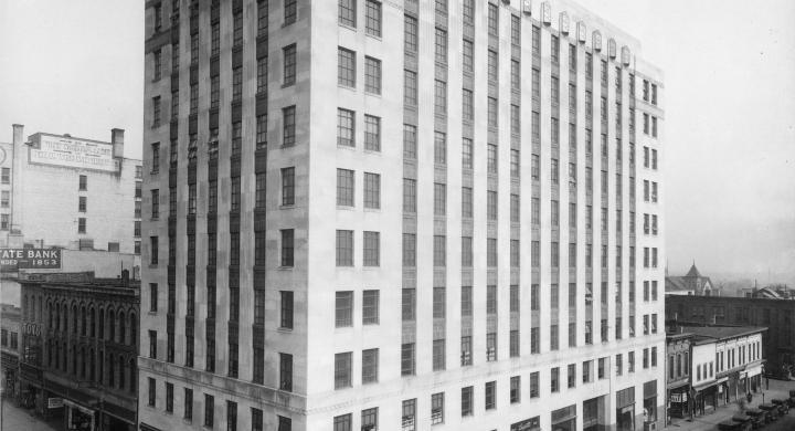 ULI Tenney Plaza - Historic Photo