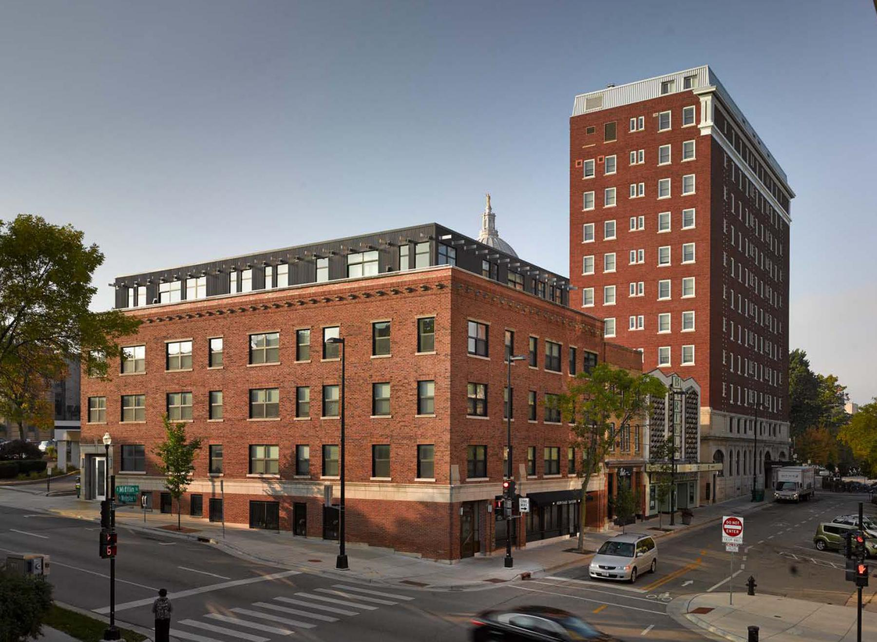 ULI Capitol Hill Apartments with Capitol View