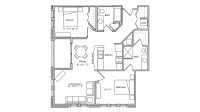 ULI The Depot 1-502 - Two Bedroom, Two Bathroom