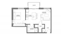 ULI Nine Line 201 - One Bedroom, One Bathroom