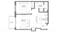 ULI Nine Line 519 - One Bedroom, One Bathroom