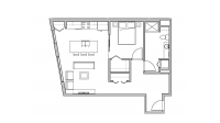 ULI Seven27 204 - One Bedroom, One Bathroom
