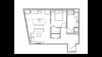ULI Seven27 204 - One Bedroom, One Bathroom