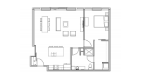 ULI Seven27 216 - One Bedroom, One Bathroom