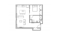 ULI Seven27 304 - One Bedroom, One Bathroom