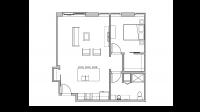 ULI Seven27 317 - One Bedroom, One Bathroom