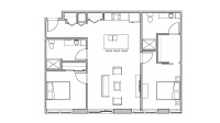 ULI Seven27 322 - Two Bedroom, Two Bathroom