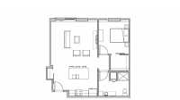 ULI Seven27 418 - One Bedroom, One Bathroom