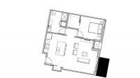 ULI Seven27 426 - One Bedroom, One Bathroom