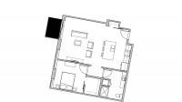 ULI Seven27 430 - One Bedroom, One Bathroom