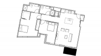 ULI Seven27 436 - Two Bedroom, Two Bathroom