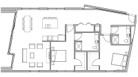 ULI Seven27 440 - Two Bedroom, Two Bathroom