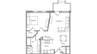 ULI The Depot 2-103 - One Bedroom, One Bathroom