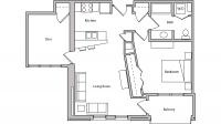 ULI The Depot 2-302 - One Bedroom Plus Den, One Bathroom