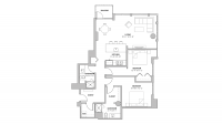 ULI The Pressman 407 - Two Bedroom, Two Bathroom