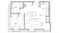 ULI Tobacco Lofts E106 - One Bedroom, One Bathroom