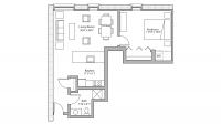 ULI Tobacco Lofts W203 - One Bedroom, One Bathroom