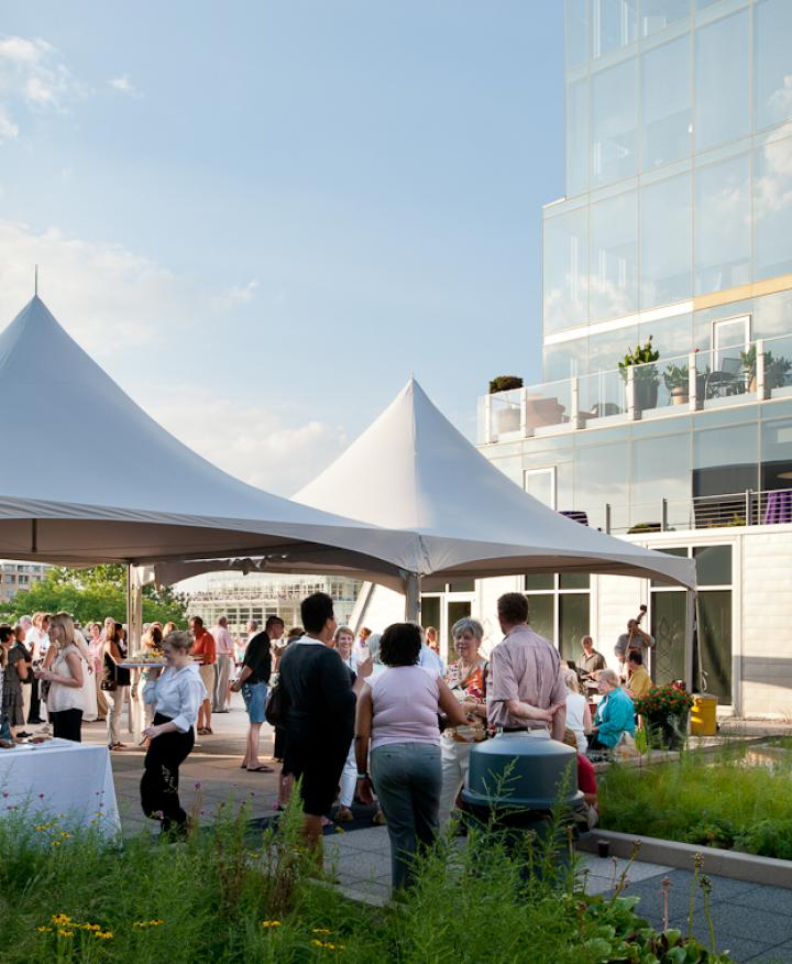 ULI Block 89 Rooftop Terrace - Concerts on the Square